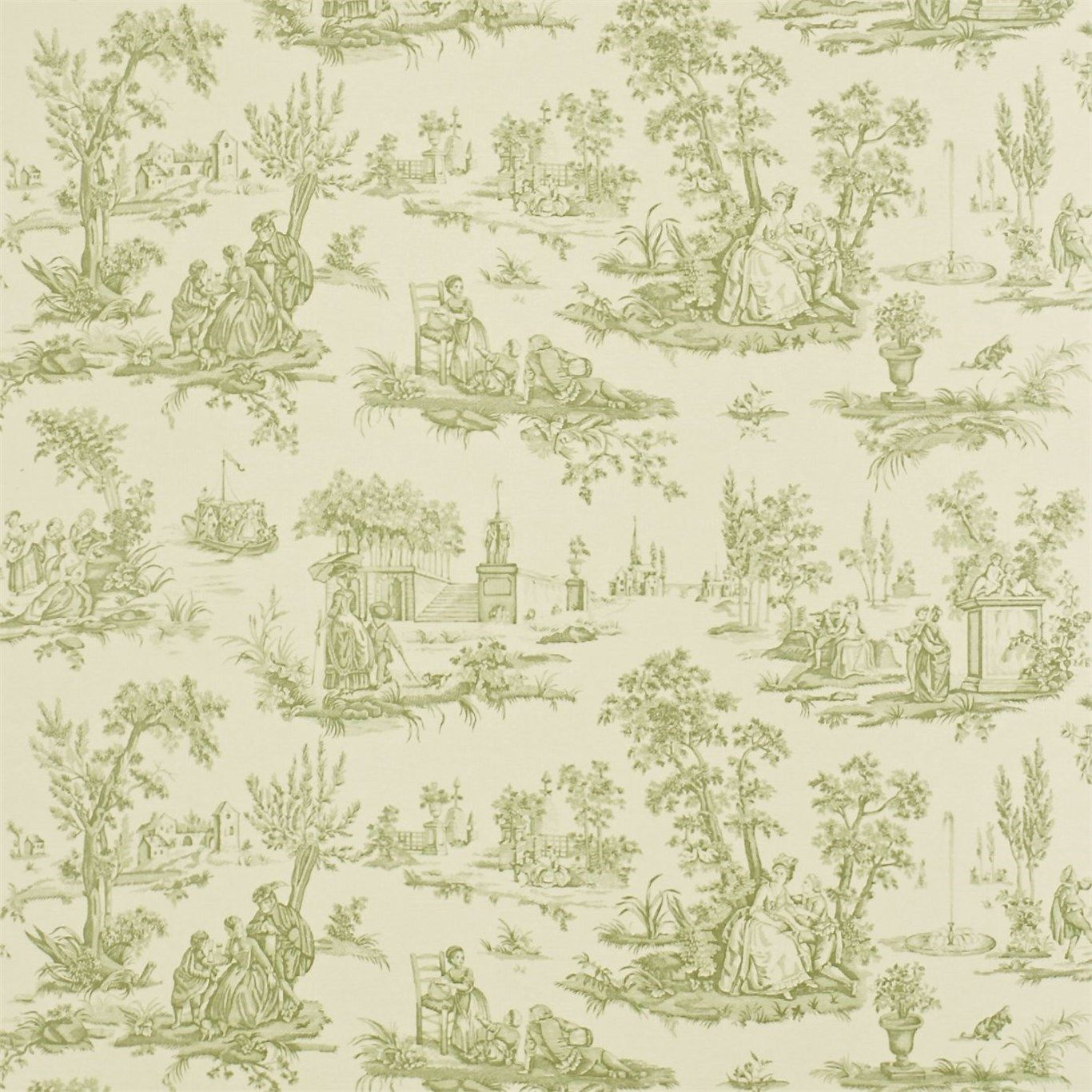 sanderson courting toile
