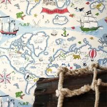 Обои Little Sanderson Abracazoo Treasure Map 214040